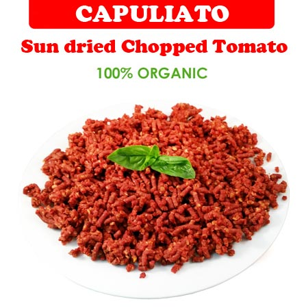 Capuliato - Sun dried Chopped Tomato 100% Organic