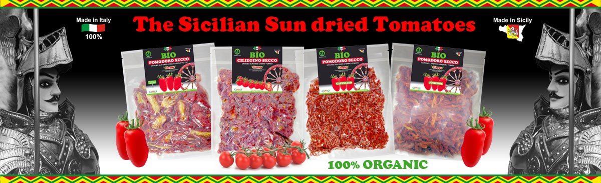 Sicilian Sun dried Tomatoes