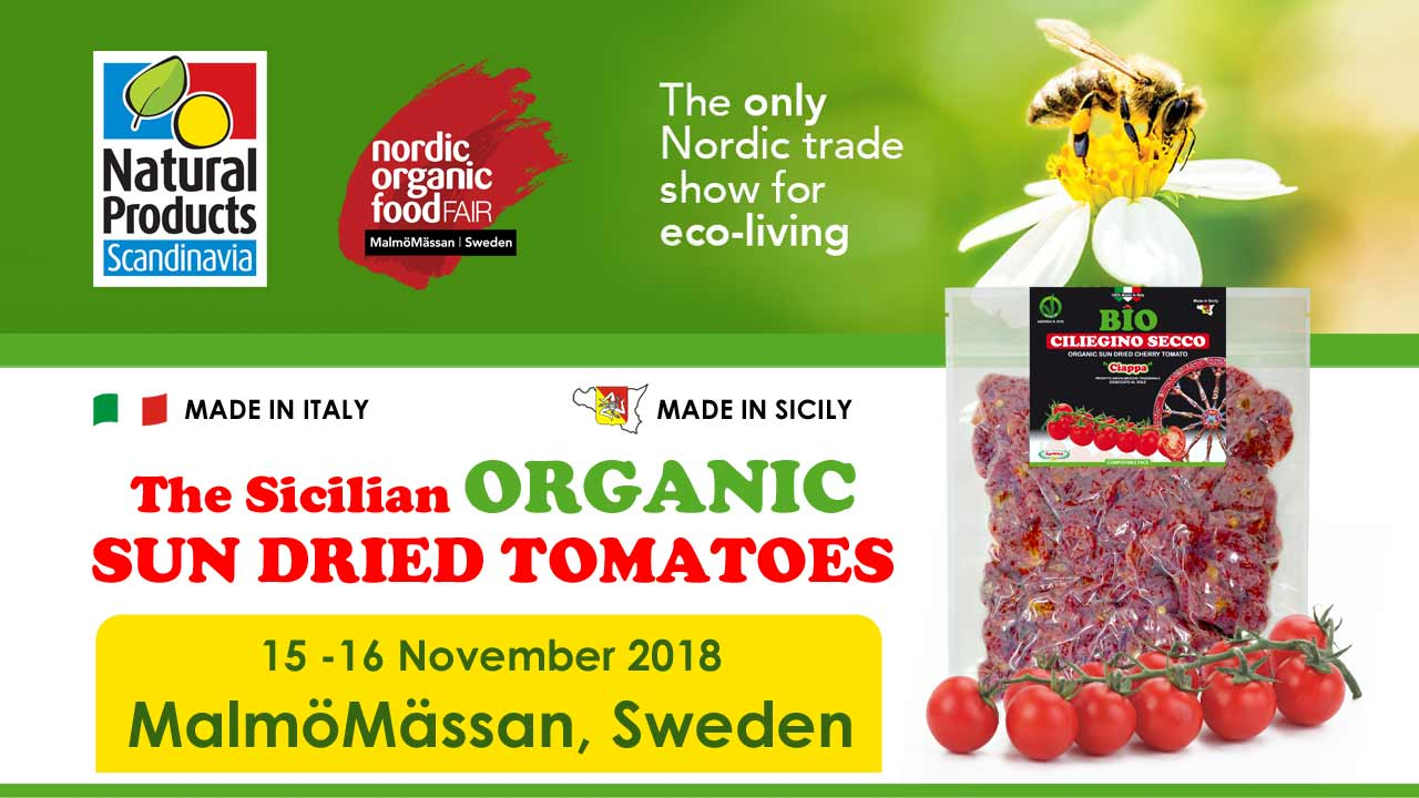 Agriblea at: Nordic Organic Food Fair 2018 - SCANDINAVIA SWEDEN - 14-15 November 2018 | MalmöMässan