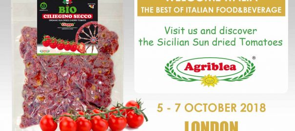 WELCOME ITALIA - London (come to discover the sicilian sun dried tomato)