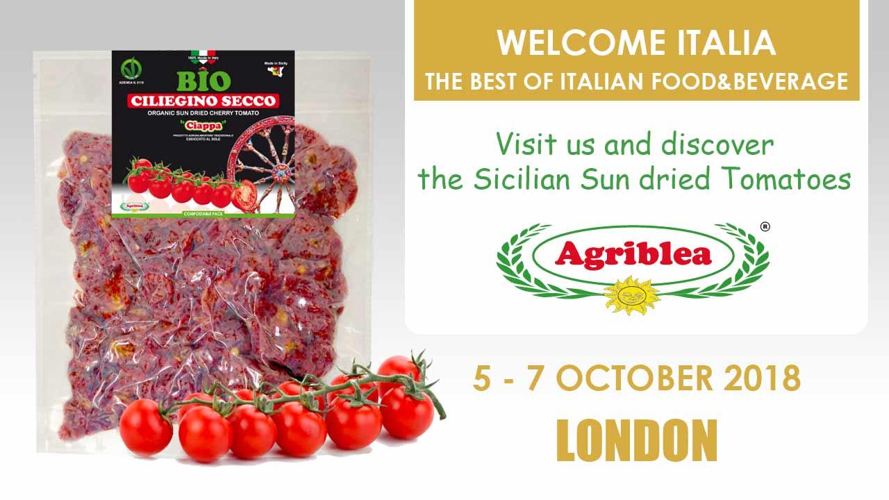 WELCOME ITALIA - London (come to discover the sicilian sun dried tomato)