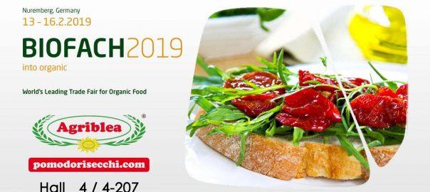 Biofach 2019 Organic sun dried tomatoes Agriblea