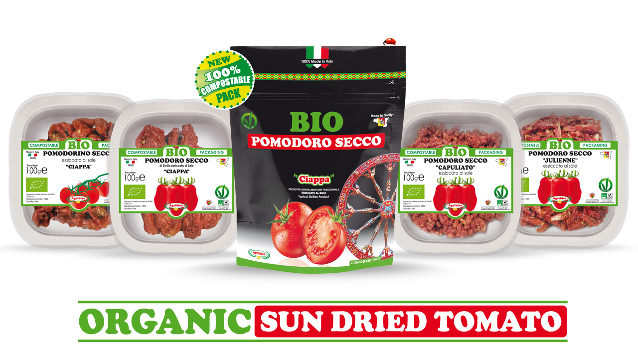 Biofach 2019 Organic sun dried tomatoes by Agriblea