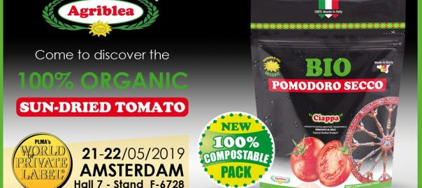 Organic Sun-dried Tomatoes by Agriblea at PLMA AMSTERDAM Netherland 2019