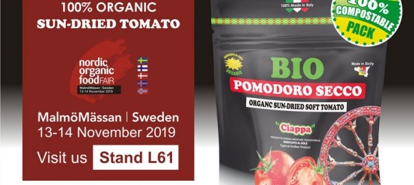 Agriblea at Nordic Organic Food Fair 2019 MalmöMässan – Sweden