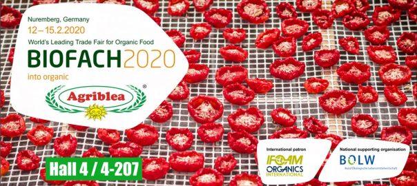 BIOFACH 2020 Germany – Organic Sun dried Tomato Agriblea