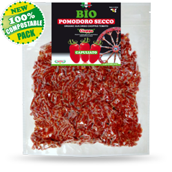 Compostable pack - capuliato (sun dried ground tomato)