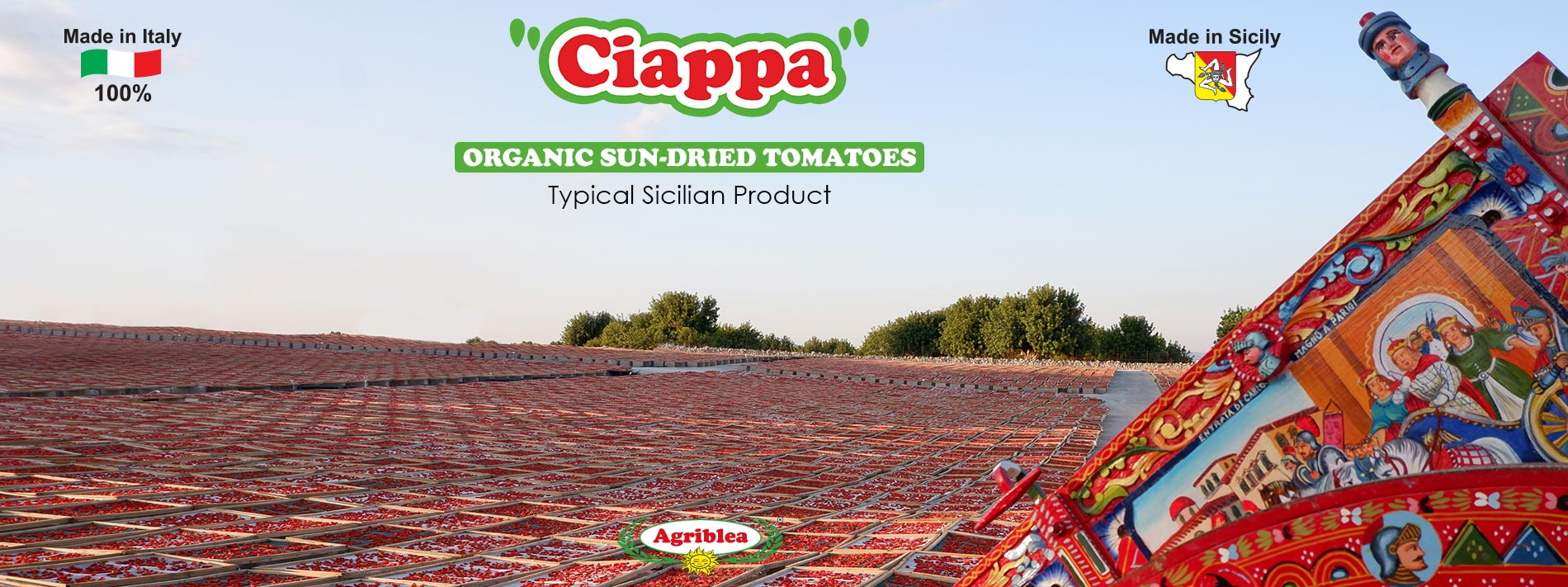 Ciappa - Organic Sun dried tomatoes Agriblea